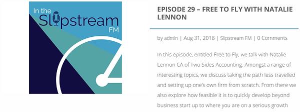Slipstream FM Podcast - Natalie Lennon.p