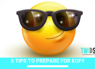 5 Tips to prepare for EOFY