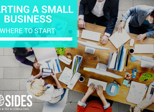 Starting a Small Business - where to start?