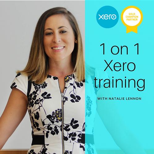 1 on 1 Xero training - 1hr (online)