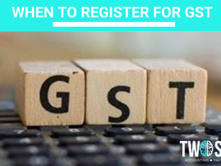 When to register for GST (2 min read)
