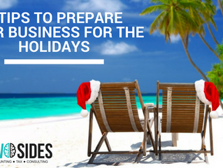 3 TIPS TO PREPARE YOUR SMALL BUSINESS FOR THE HOLIDAYS
