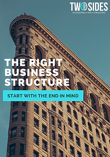 The Right Business Struture Guide