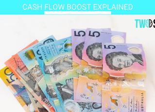 CASH FLOW BOOST explained