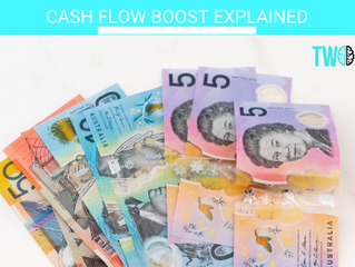 CASH FLOW BOOST explained