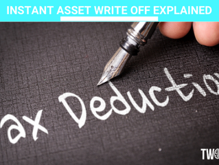 INSTANT ASSET WRITE OFF EXPLAINED (5 min read)