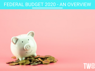 FEDERAL BUDGET 2020 - an overview