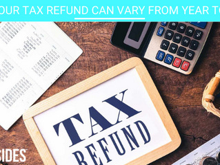 Why your tax refund can vary from year to year (2 min read)