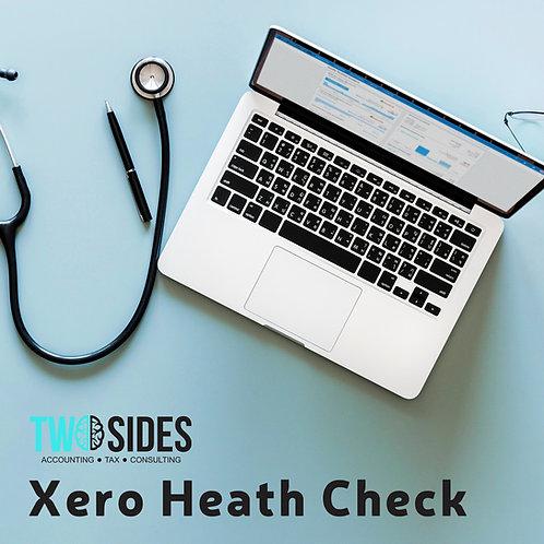 Xero Health Check - 1 page report
