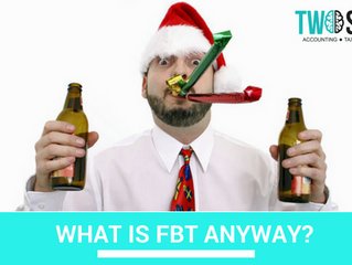 WHAT IS FBT ANYWAY?