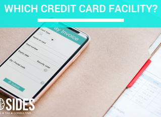 WHICH CREDIT CARD FACILITY?