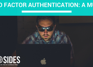 TWO FACTOR AUTHENTICATION: A MUST
