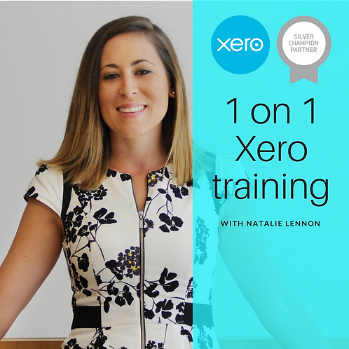 1 on 1 Xero training - 1hr (online)