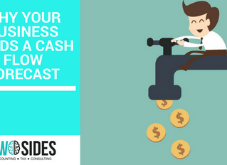 WHY YOUR BUSINESS NEEDS A CASH FLOW FORECAST