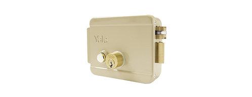 Cerradura eléctrica con botón 688 cilindro fijo
