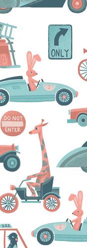 Cars Children's Illustration
