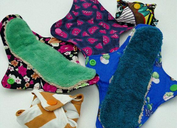 Serviette Jour- Protections hygiéniques lavables