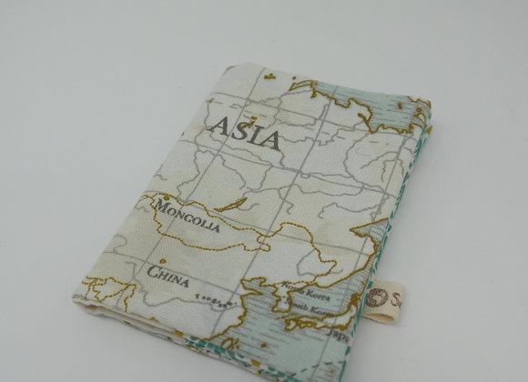 Housse de passeport - Carte -Asie