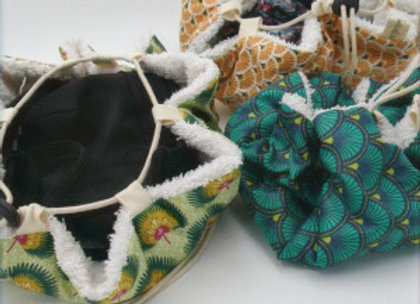 Bourse à maillot et tapis intégré