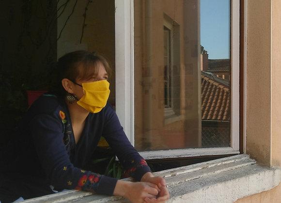 Masque suspendu - Soutien aux soignant-e-s