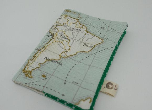 Housse de passeport - Carte - Brésil