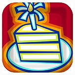 party cake icon