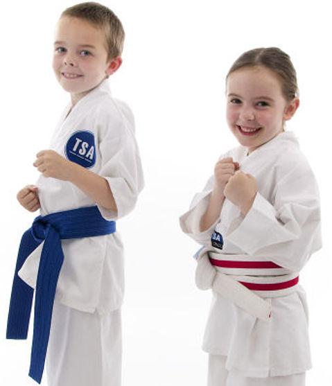 Will and Grace Junior Tygers Taekwondo