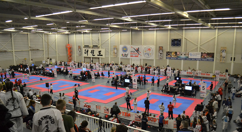 Dutch open competition arena