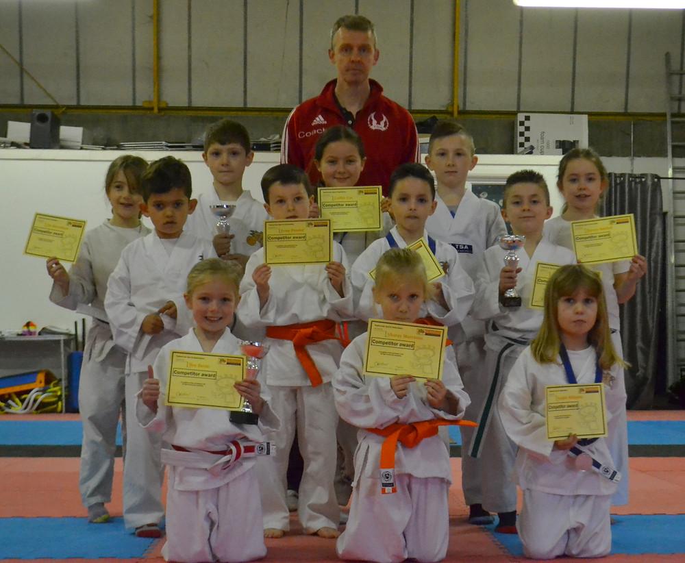 Tyger Taekwondo group photo