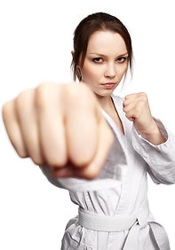 lady punching