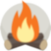 camp fire logo