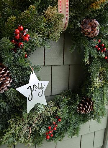 Joyful Star Ornament