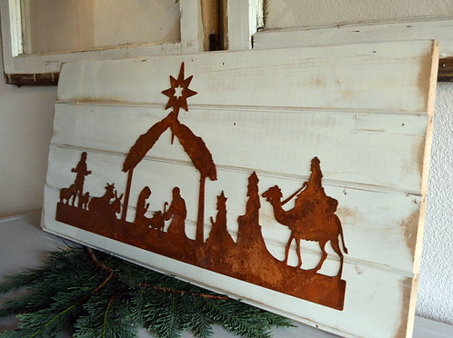 Nativity Scene Sign