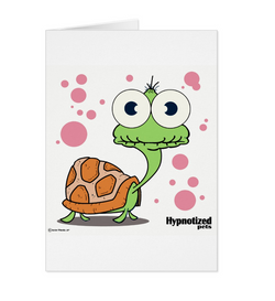 TURTLE (WHITE BG) CARD