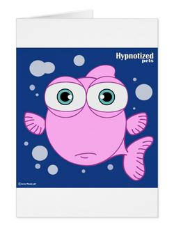 FISH (PINK) POSTCARD