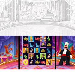 Krusty Stage Slot Machine Project.