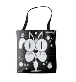 Cat (White) Shopping Bag