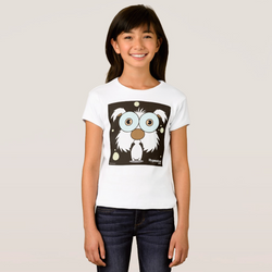 DOG (WHITE) GIRL T-SHIRT
