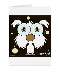 DOG (WHITE) CARD