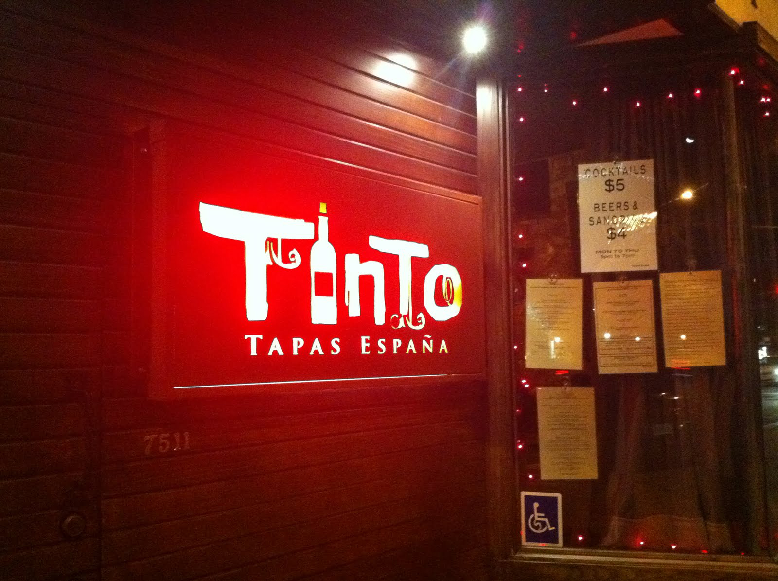 Tinto Tapas