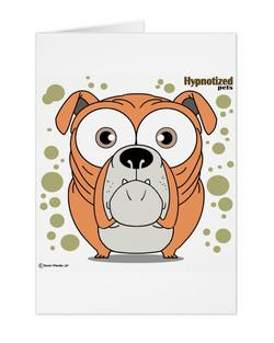 Bulldog (Orange) Card