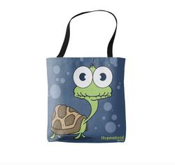TURTLE (NAVY BLUE) SHOPPING BAG