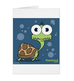 TUTLE (NAVY BLUE) CARD