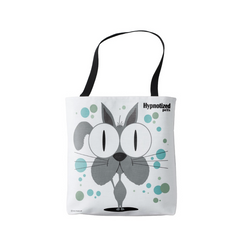 Cat (Grey) Shopping Bag