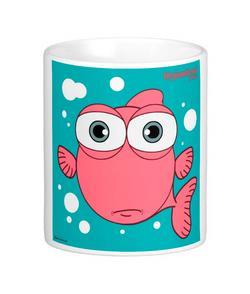 FISH (LIGHT RED) MUG