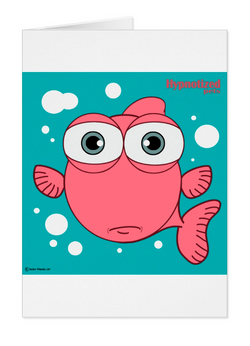 FISH (LIGHT RED) CARD