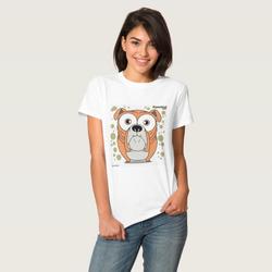 Bulldog (Orange) Women's T-Shirt