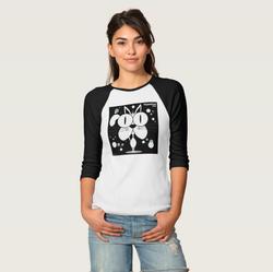 Cat (White) Women's T-Shirt Black