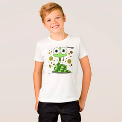 SNAKE (GREEN) BOY T-SHIRT