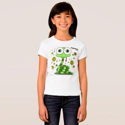 SNAKE (GREEN) GIRL T-SHIRT